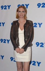January Jones - at 92Y in NYC 4/24/13