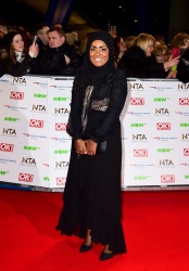 Nadiya Hussain - 21st National Television Awards @ The O2 Arena in London - 01/20/16