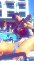 Charissa Thompson - Bikini & Panties Snapchat Story - 4/16/16
