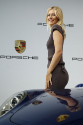 Maria Sharapova - unveiled as Porsche's new brand ambassador in Stuttgart 4/22/13