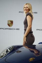 Maria Sharapova - unveiled as Porsche's new brand ambassador in Stuttgart 4/22/13
