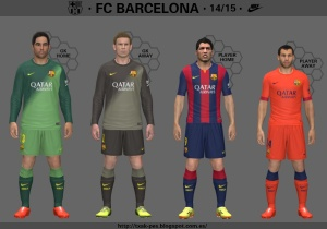 Download FC Barcelona 14-15 GDB PES 2014 by Txak