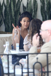 Emmanuelle Chriqui - Out for lunch with a friend in Beverly Hills 7/31/17