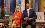 Kelly Ripa legs - Live with Kelly and Michael 7-2-13