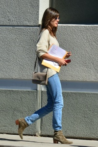Alessandra Ambrosio - At The Post Office in Santa Monica - March 1st 2017