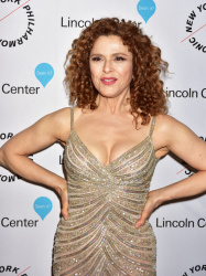 Bernadette Peters - Sinatra Voice for A Century Event @ Lincoln Center's David Geffen Hall in NYC - 12/03/15