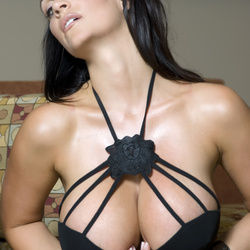 ����� ������, ���� 4263. Denise Milani Black See Through, foto 4263