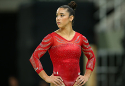 Aly Raisman - Rio 2016 Olympics Games: Podium Training @ the Arena Olimpica do Rio in Rio de Janeiro - 08/04/16