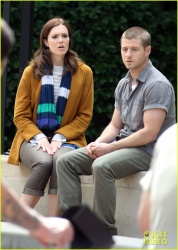 Mandy Moore - on the set of 'The Advocates' in LA 4/4/13