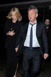 Sean Penn - Charlize Theron and Sean Penn - seen leaving Royal Festival Hall. London - February 16, 2015 (153xHQ) VTyiIww3