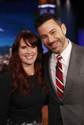 Megan Mullally - Jimmy Kimmel Live: January 19th 2017