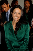 Michelle Rodriguez - Attends the Ralph Russo Fashion Show in Paris 7/3/17