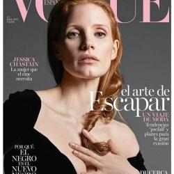 Jessica Chastain - Vogue Spain June 2017
