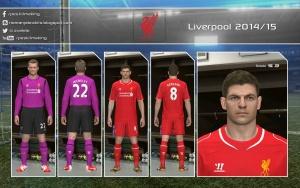 Download PES 2014 Liverpool 2014-15 GDB by Nemanja