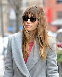 Jessica Biel - out and about in NY 3/2/13