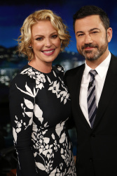 Katherine Heigl - Jimmy Kimmel Live: April 18th 2017
