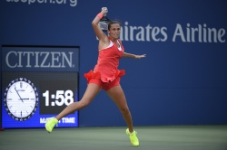 Roberta Vinci - 2015 US Open Day Twelve: Semi-finals vs. Serena Williams @ BJK National Tennis Center in Flushing Meadows - 09/11/15