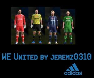 Download PES 2013 WE United Kits by JEREMZ0310