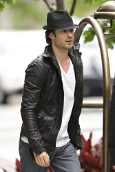 Ian Somerhalder - seen out of his hotel - May 15, 2012 - 8xHQ HTo0NZYV