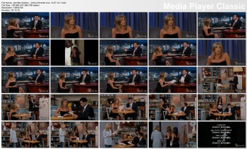 Jennifer Aniston - Jimmy Kimmel Live - 8-27-14