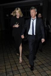 Sean Penn - Charlize Theron and Sean Penn - seen leaving Royal Festival Hall. London - February 16, 2015 (153xHQ) HUreuFwI