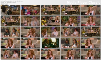 Rachelle Lafevre - The Talk - 8-1-14