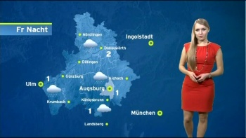 Anna Gröbel -Augsburg TV -Allemagne AcfVfgLr