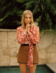 Ashley Benson - Wonderland Magazine Spring 2015 Photoshoot by Charlotte Hadden