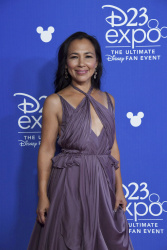 Irene Bedard - D23 Expo 2017 Day One @ the Anaheim Convention Center in Anaheim - 07/14/17