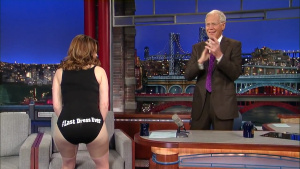 Tina Fey on The Late Show with David Letterman - May 7, 2015