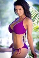 Дениз Милани, фото 5681. Denise Milani Purple Bikini 2012 :, foto 5681