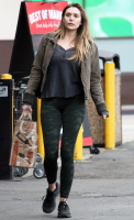 Elizabeth Olsen - In tights out in Los Angeles 1/15/17