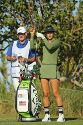 Michelle Wie - 2017 Pure Silk Bahamas LPGA Classic First Round @ The Ocean Club Golf Course in Paradise Island - 01/26/17