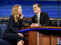 Leslie Mann - The Late Show with Stephen Colbert: January 30th 2017