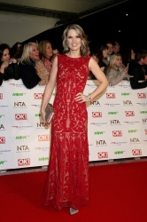 Charlotte Hawkins - 21st National Television Awards @ The O2 Arena in London - 01/20/16