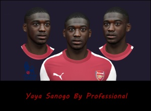 Download PES 2014 Yaya Sanogo Face by Professional