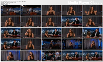 Mila Kunis - Jimmy Kimmel Live: Game Night