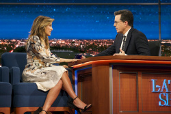Jennifer Esposito - The Late Show with Stephen Colbert: April 3rd 2017