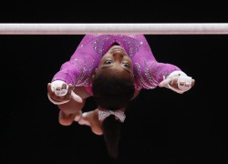 Simone Biles - 2015 World Artistic Gymnastics Championships: Day Two @ The SSE Hydro in Glasgow - 10/24/15