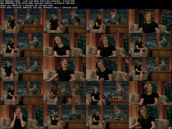 Meredith Vieira - Late Late Show with Craig Ferguson - 3-3-14 (leggy!)