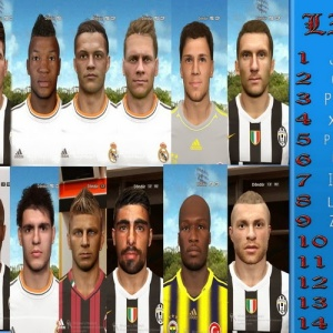 Download PES 2014 Mega Facepack by Baycex