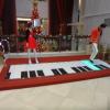 Interactive piano stage AKUOpmBD