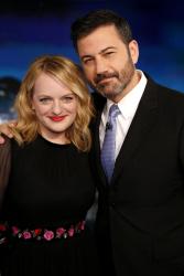 Elisabeth Moss - Jimmy Kimmel Live: July 31st 2017