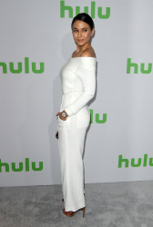Emmanuelle Chriqui - Hulu's Winter TCA 2017 in Los Angeles 1/7/17