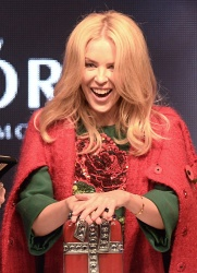 Kylie Minogue - Oxford Street Christmas Lights Switch On Event @ the Pandora Flagship Store in London - 11/01/15