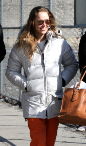Ronda Rousey - On the Set of NBC's Blindspot in Brooklyn - March 6th 2017