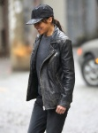 Michelle Rodriguez filmed a scene deep in the alleyways of Chinatown in Vancouver November 16-2015 x11