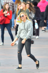 Chloe Moretz at Disneyland in Anaheim - 2/27/15