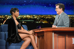 Jennifer Hudson - The Late Show with Stephen Colbert: April 17th 2017