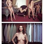 Gatas QB - Rellys Tonu, Melinda Trifan e Claudia Stoica Playboy Roménia Fevereiro 2015